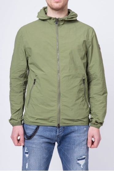 Lightweight Hooded Jacket Green