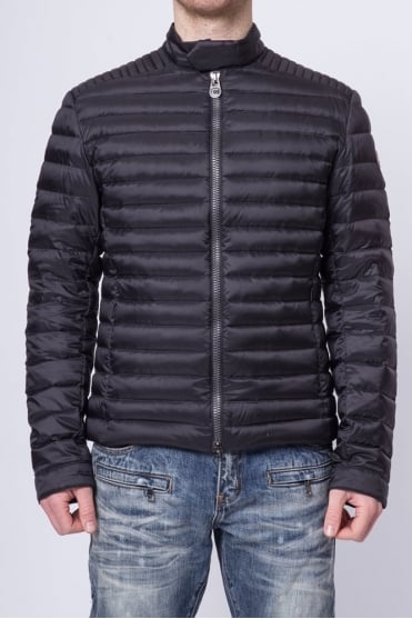 Biker Padded Jacket Black