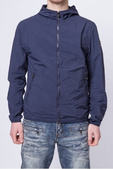 Lightweight Hooded Jacket Navy