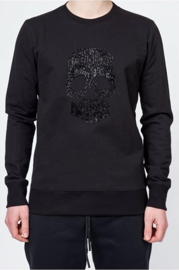 Skull Adventure Sweatshirt Black