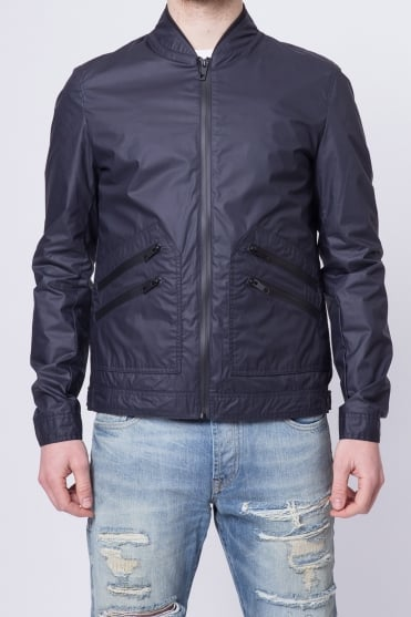 Lightweight Bomber Jacket Navy
