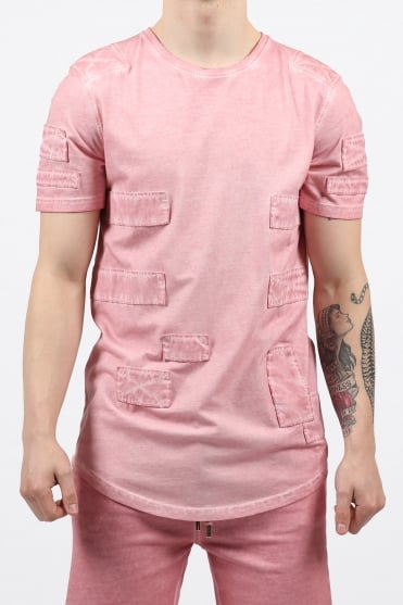 Sixmill Patched T-Shirt Pink