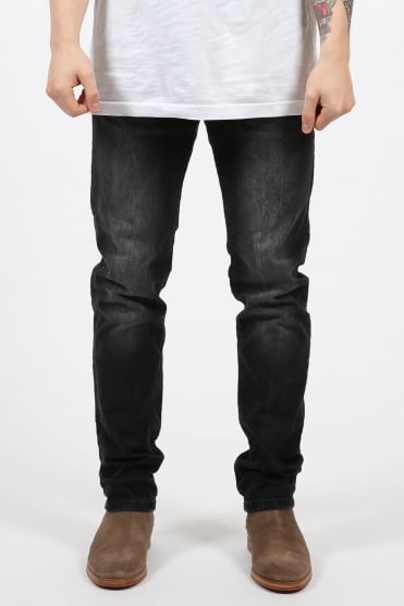 Ralston Regular Slim Fit Jeans Black Wash