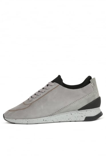 Sime Nubuck Trainers Grey
