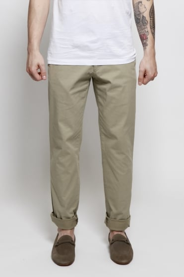 Enzo Chino Trousers Beige
