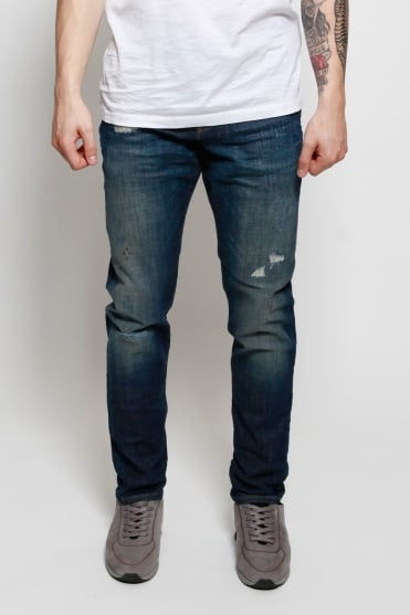 Ralston Regular Slim Fit Jeans Blue