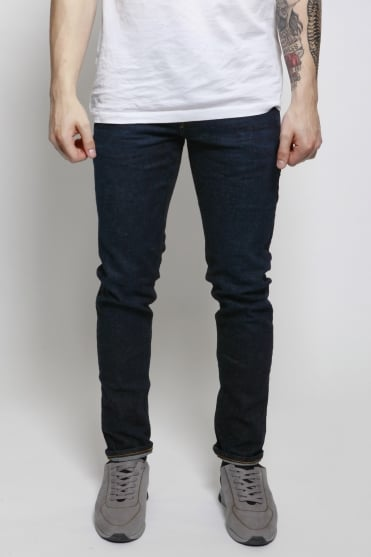 Tye Do Not Disturb Slim Carrot Fit Jeans Blue
