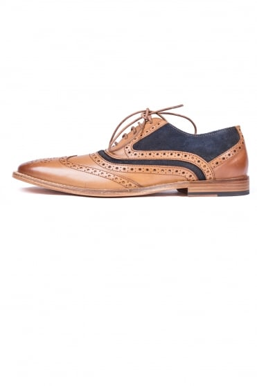 Ramiz Shoes Tan/Navy