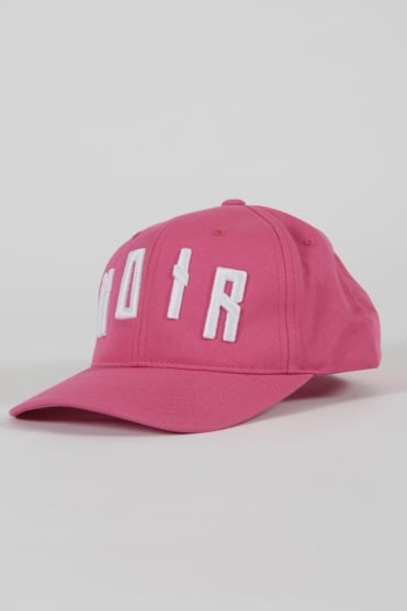 Iconic Noir Trucker Hat Pink