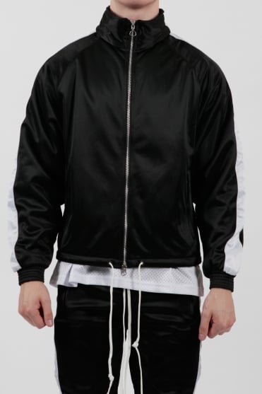 Track Jacket Black/White