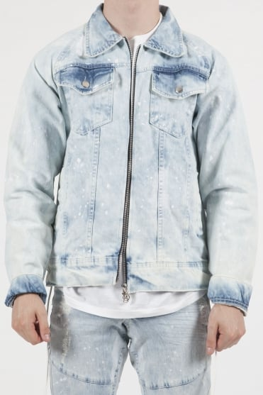 Raglan Denim Jacket Blue