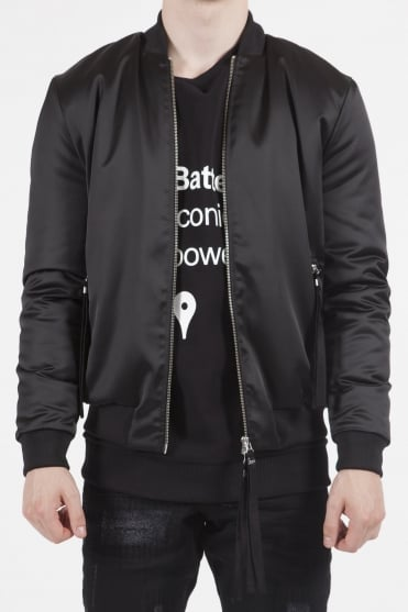 Sunsilk Logo Bomber Jacket Black