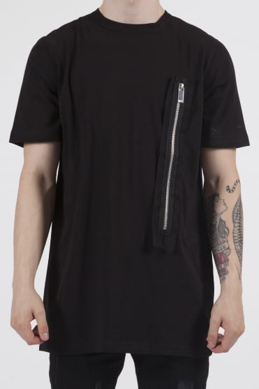 Warner Longline T-Shirt Black