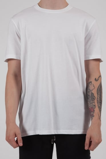 Logo Tape T-Shirt White