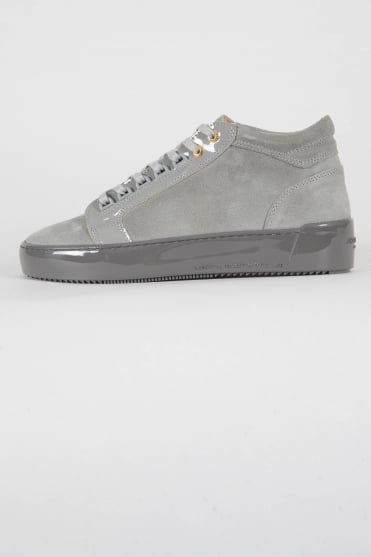 Propulsion Mid Suede Trainers Grey