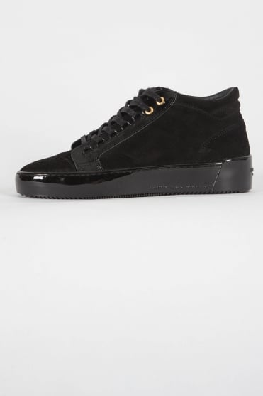 Propulsion Mid Suede Trainers Black