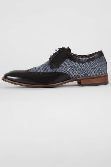 Spencer Brogue Shoes Black