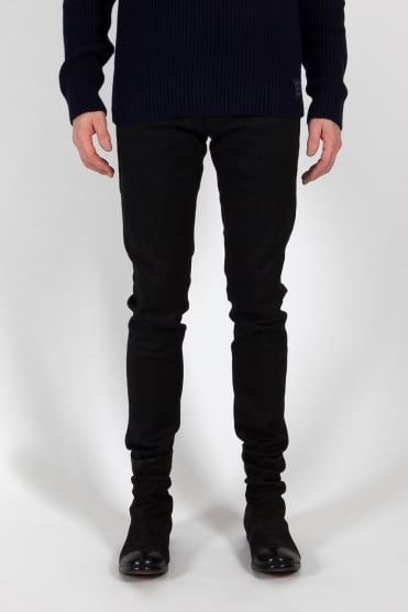 Tye Plus Slim Carrot Fit Jeans Black