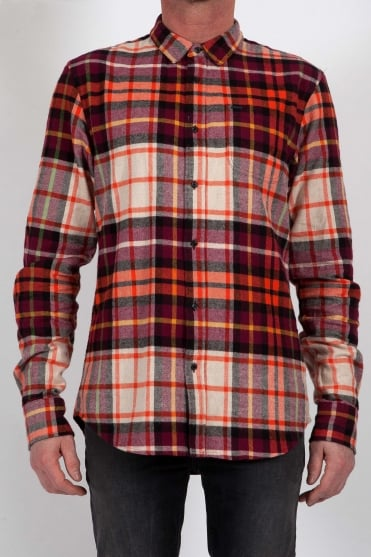 Checked Flannel Shirt Multi-Colour