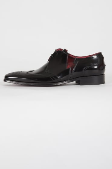 K028 Scarface Shoes Black/Red