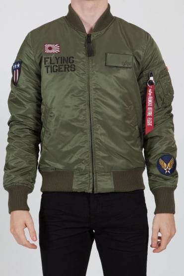Flying Tigers Bomber Jacket Khaki