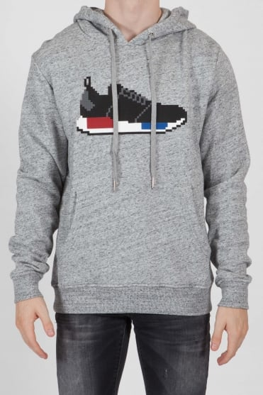 NMB 8-Bit Hooded Sweatshirt Grey