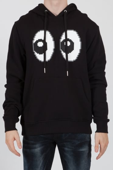 All Eyez On Me 8-Bit Hoodie Black