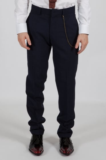 Speckle Trousers Navy