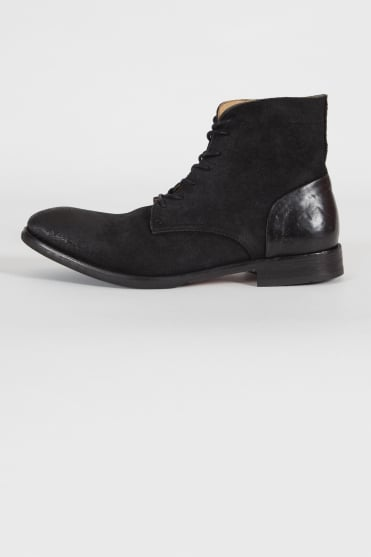 Yoakley Lace Up Boots Black
