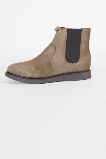 Brooksby Chelsea Boots Olive