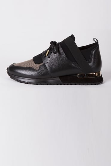 BLTR Elast Gold Trainers Black/Gold
