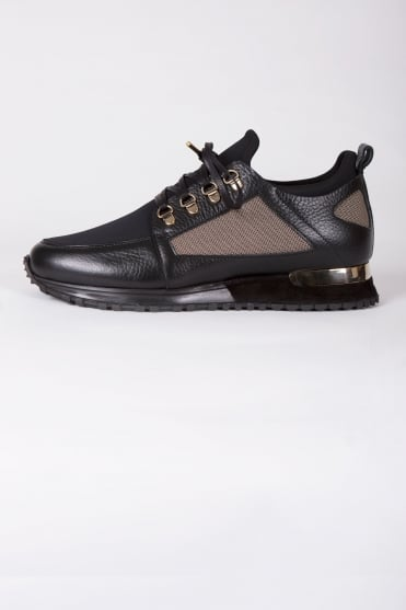 BLTR Hiker Gold Trainers Black/Gold