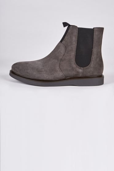 Brooksby Chelsea Boots Dark Grey