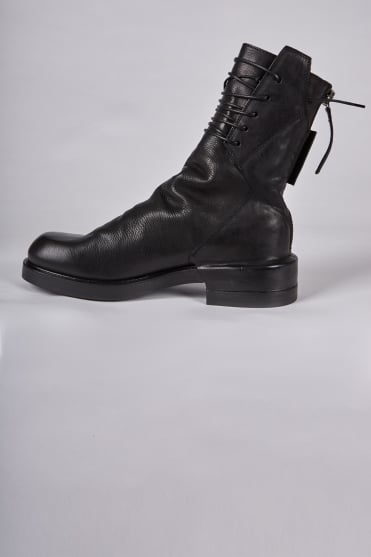 Hektor Full Lace Hi Boots Black