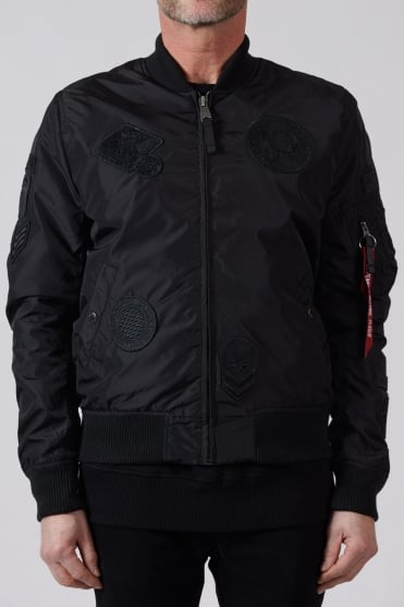 Patch II Bomber Jacket Black