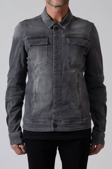 Denim Jacket Grey