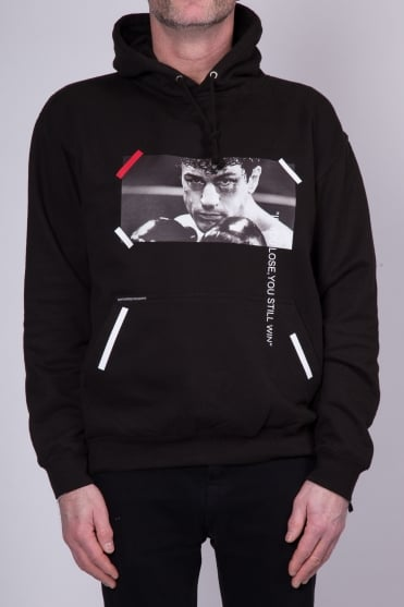 Raging Bull Hooded Sweatshirt Black