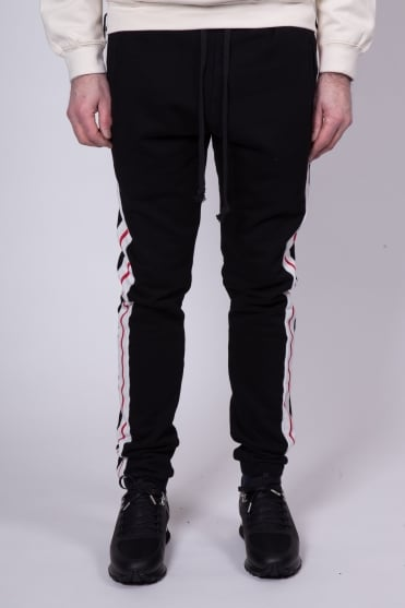 Two Stripe Sweatpants Black