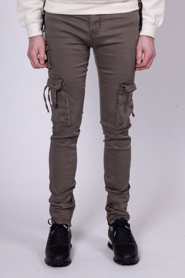 D-Ring Cargo Pant Jeans Olive