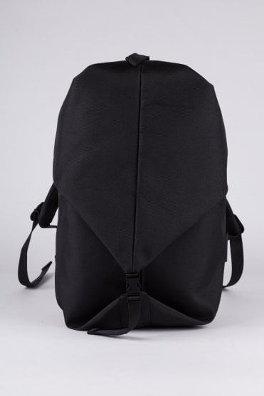 Oril Small Eco Yarn Backpack Black